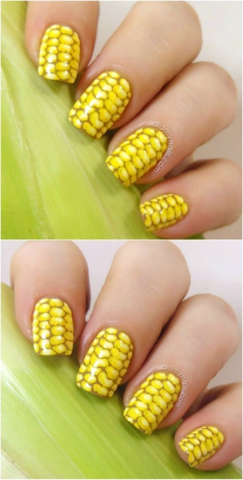 Nail Designs For Summer Flowers