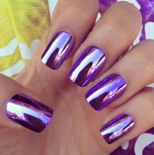 50 Incredible Purple Nail Design Ideas for 2017