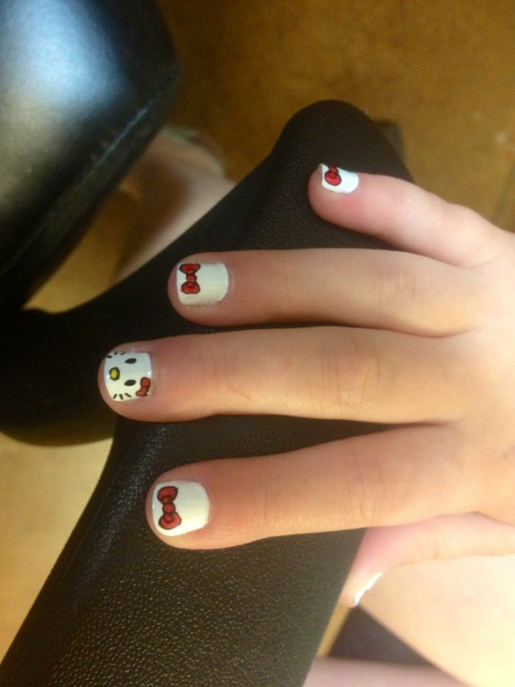 20 cute easy nail designs for little girls naildesigncodesource - Little Girl Nail Design Ideas