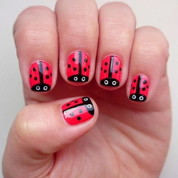cute easy nail designs for little girls images galleries with a bite