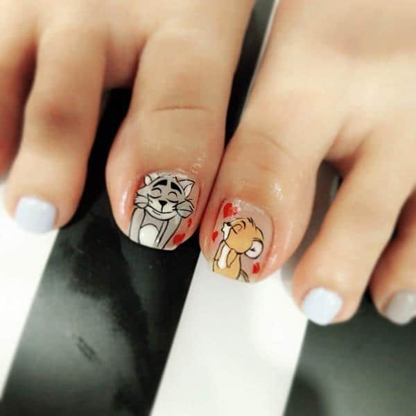 Nail Polish Colors For Younger Looking Hands: 25 Cute & Beautiful Nail Designs For Kids
