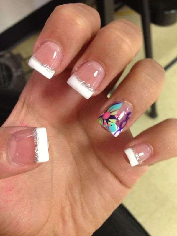 Acrylic Nail Designs 29