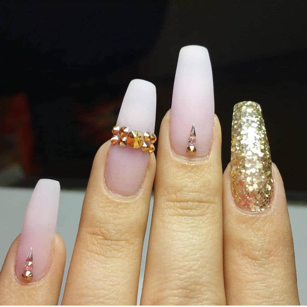 Acrylic Nail Designs 36