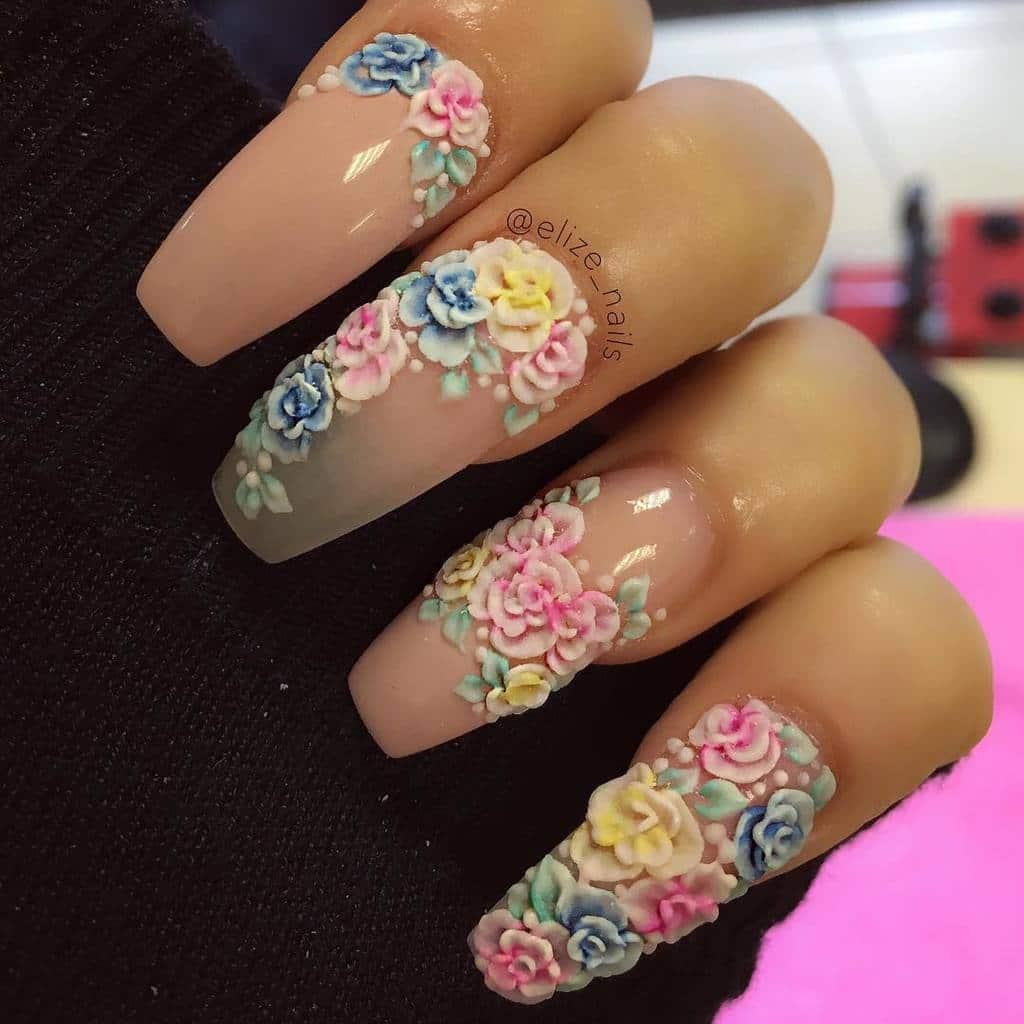 Acrylic Nail Designs 5