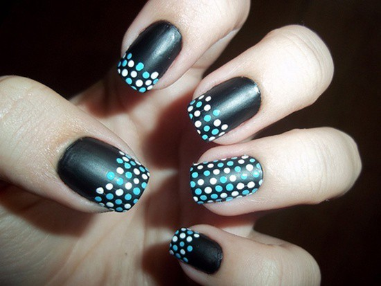 nice Black Nail Designs you like