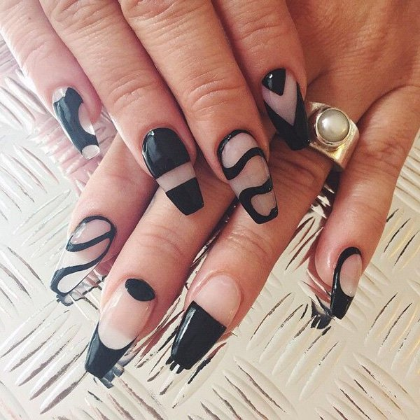 Freehand Nail Art for women