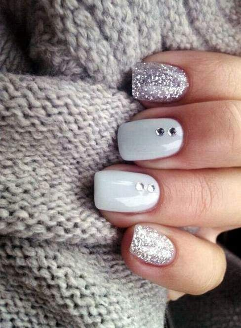 Crystal Bright cute nail designs for short nails