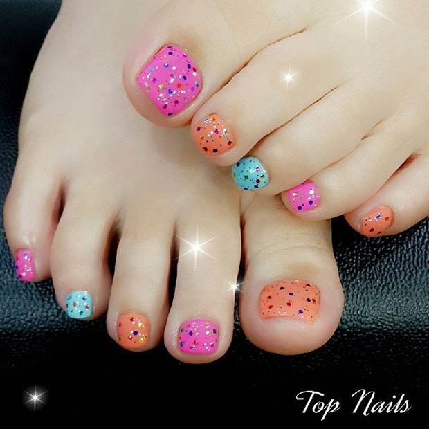 Toe Nail Designs 22