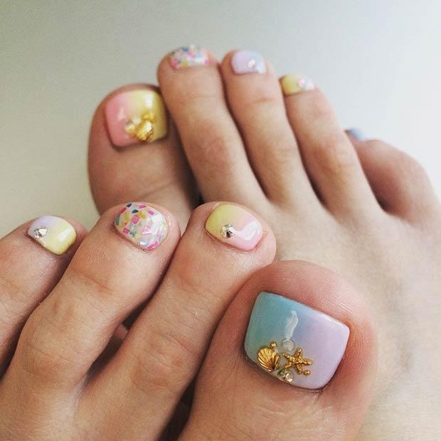 Toe Nail Designs 25