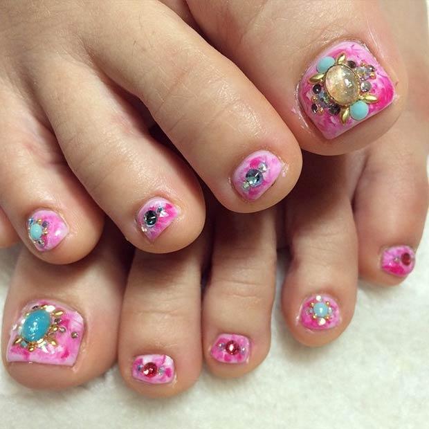 Toe Nail Designs 26