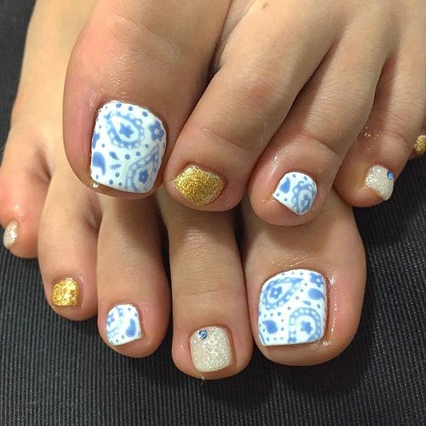 Toe Nail Designs 34