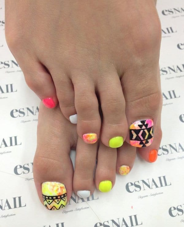 beautiful Toe Nail Designs