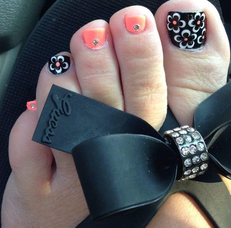 Toe Nail Designs 44