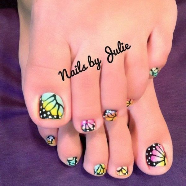 Floral Frenzy nail