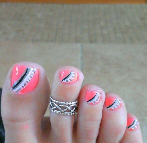 Toe Nail Designs 9