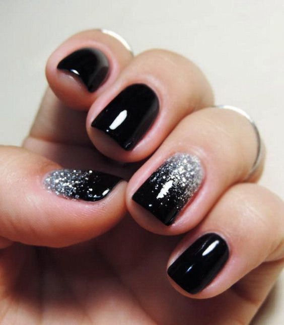 black and white nail designs 15