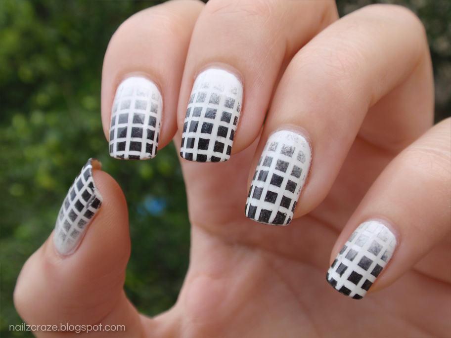 Net Pattern nail