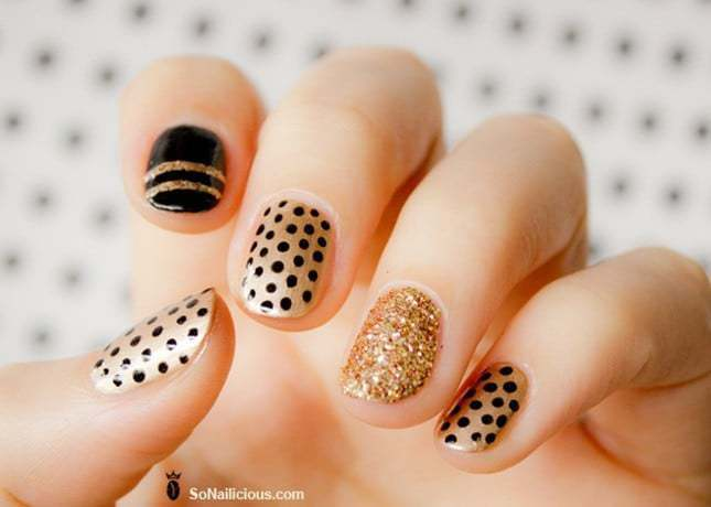 70 Hypnotic Short Nail Designs To Create The Buzz