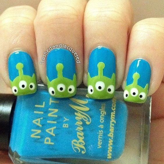Toy Story nail style