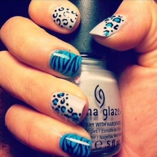 Blue Nail Designs 11