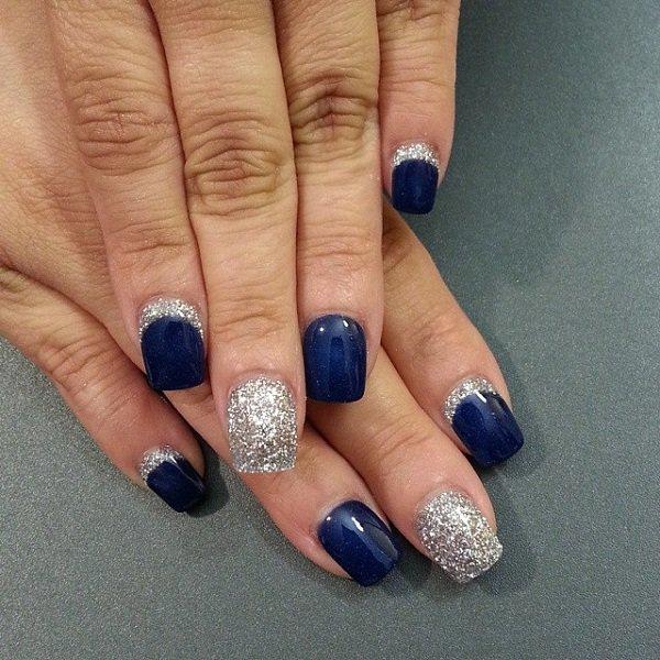 Blue Nail Designs 16