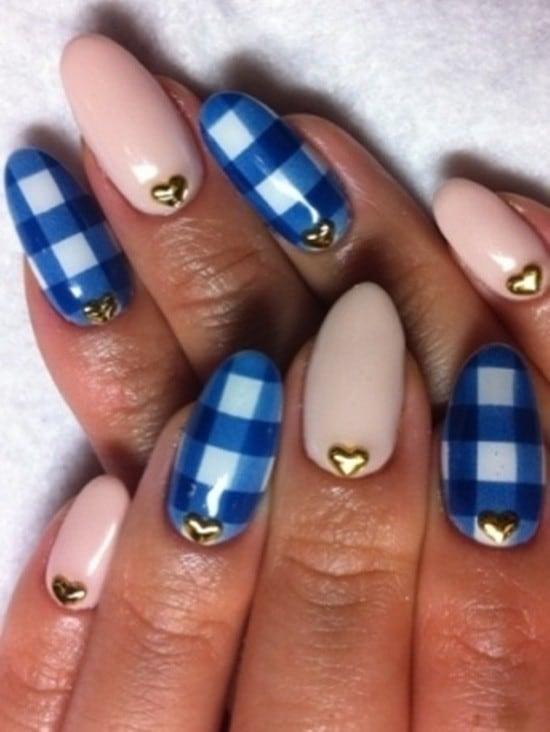 Blue Nail Designs 20