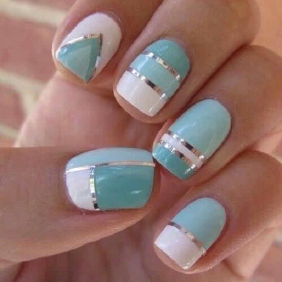 Blue Nail Designs 32