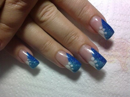 Blue Nail Designs 36