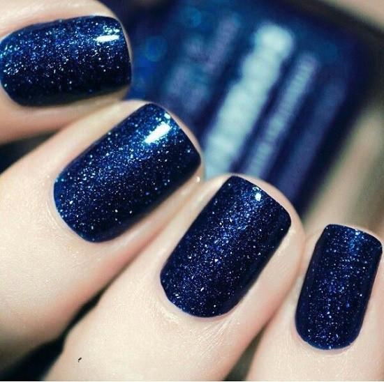 Blue Nail Designs 40