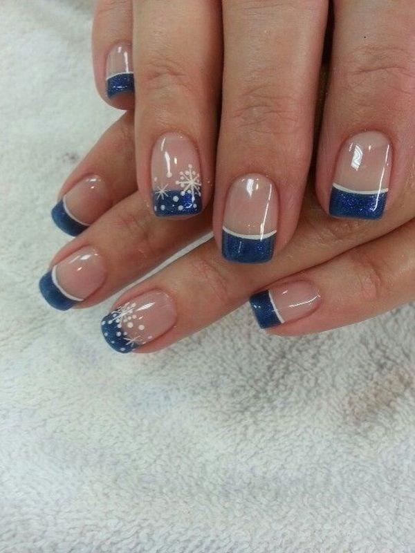 Blue Nail Designs 47