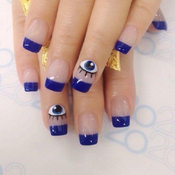 Blue Nail Designs 8