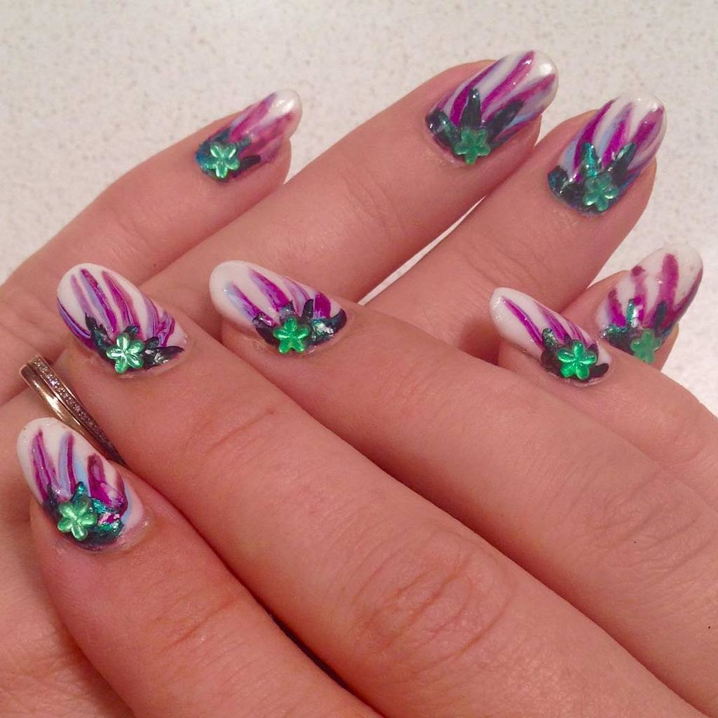 Creative and Colorful Nail Designs 09