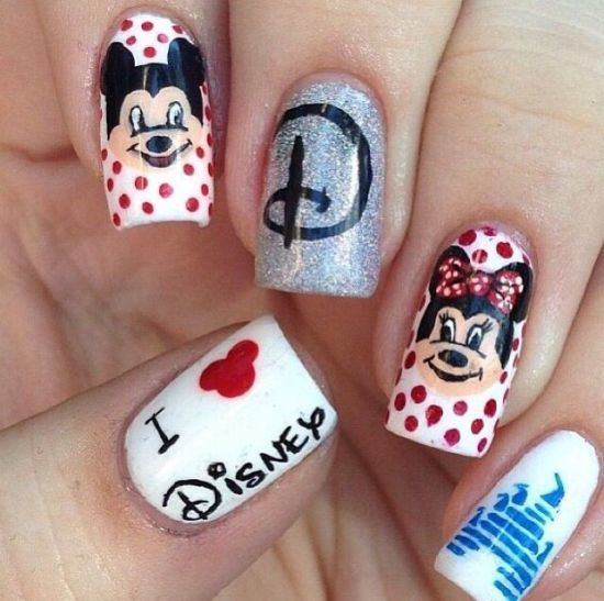 Creative and Colorful Nail Designs mj