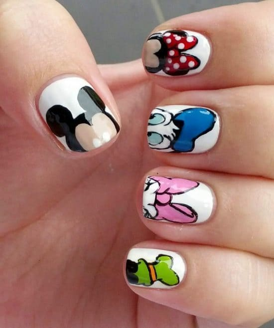 Disney Animated Nails