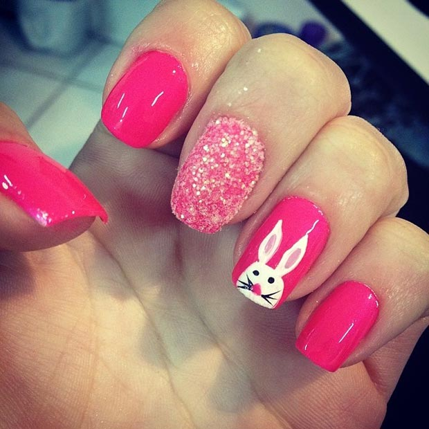 Easter Nail Designs 14