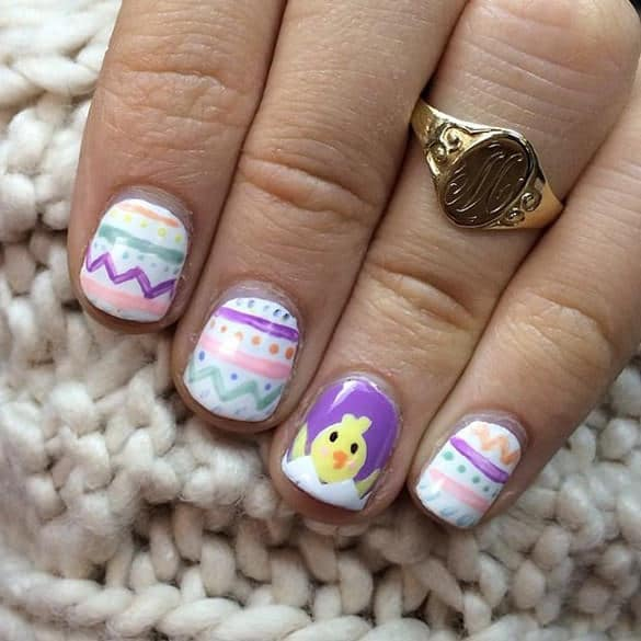 50 Epic Easter Nail Designs to Look Gorgeous - NailDesignCode