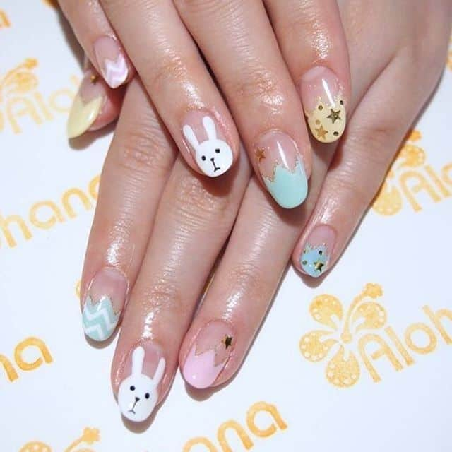 sweet Nail Designs for girls