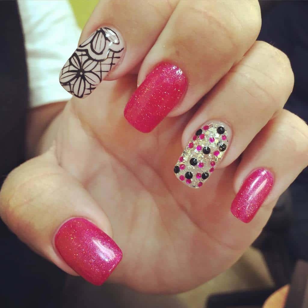 Flower Nail Designs 17