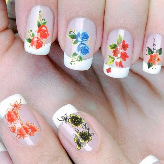 Flower Nail Designs 22