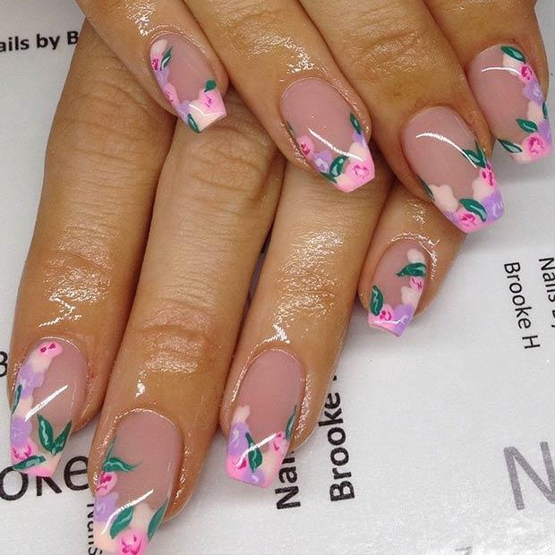 Flower Nail Designs 3