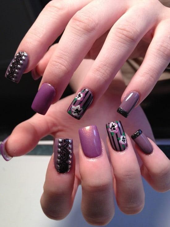 Flower Nail Designs 6