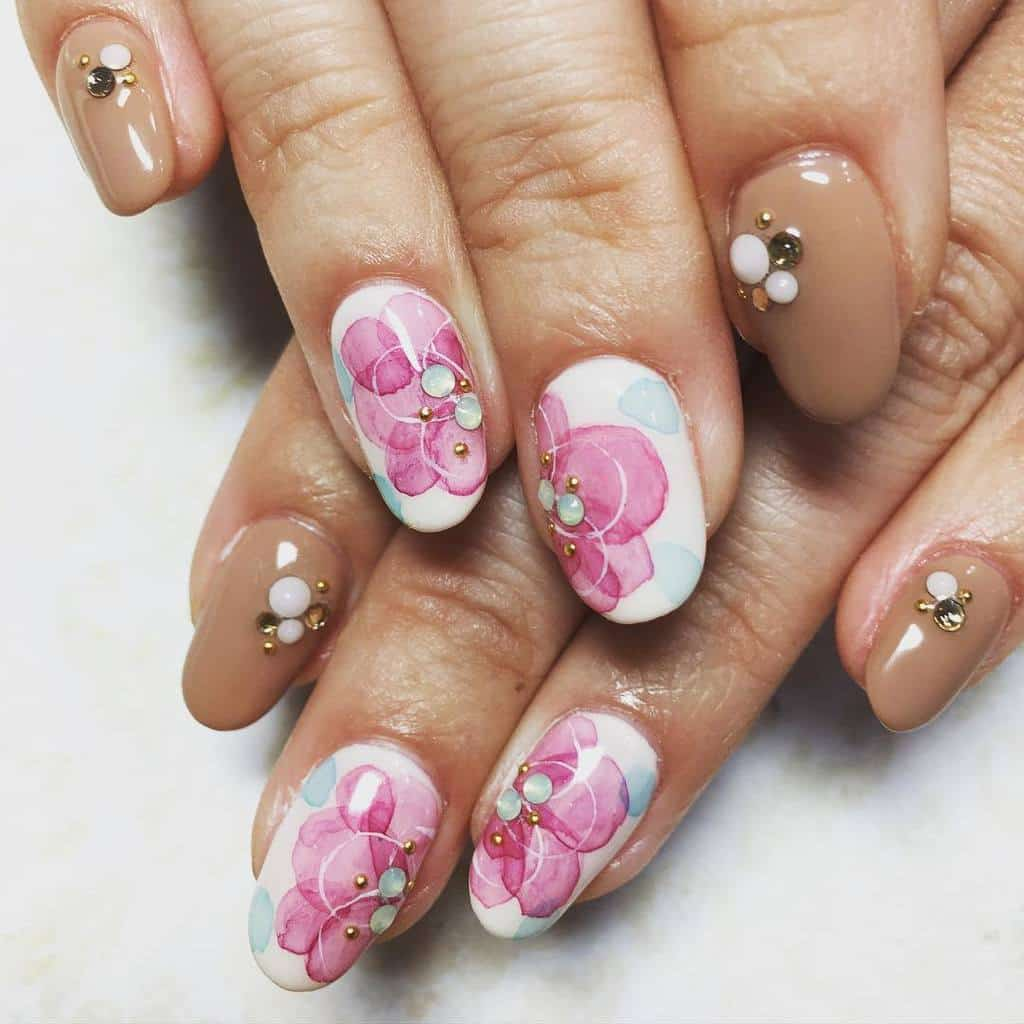 Flower Nail Designs 8