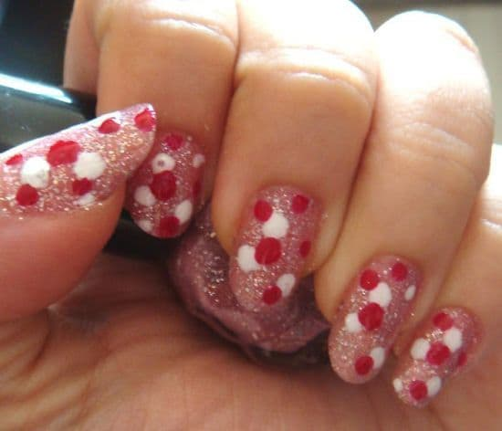Glitter nail designs 14