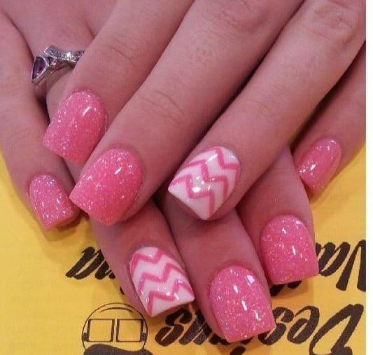 Glitter nail designs 18
