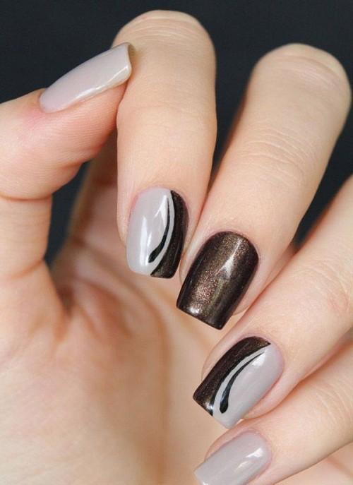 Glitter nail designs 21