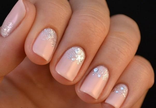 Glitter nail designs 30