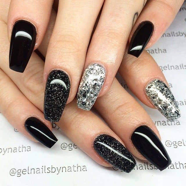 Glitter nail designs 35