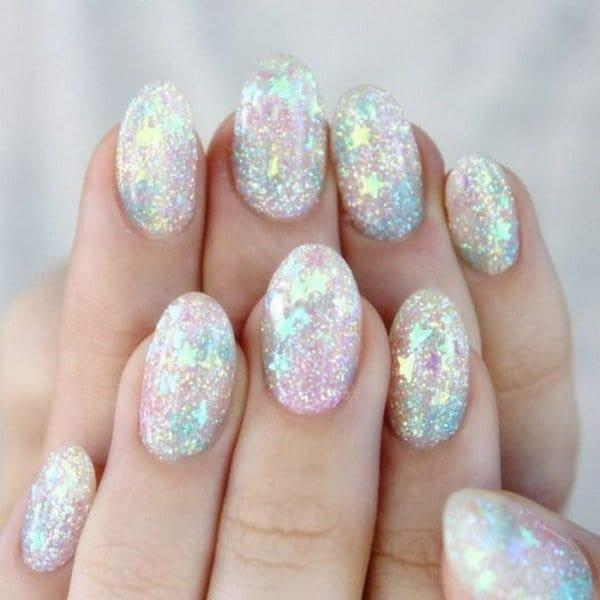 Glitter nail designs 37