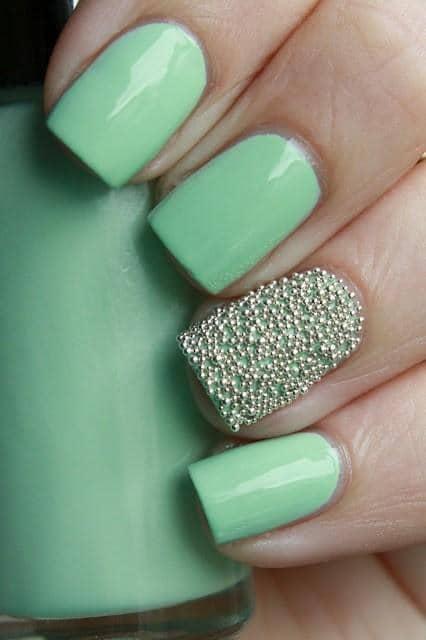 Glitter nail designs 40