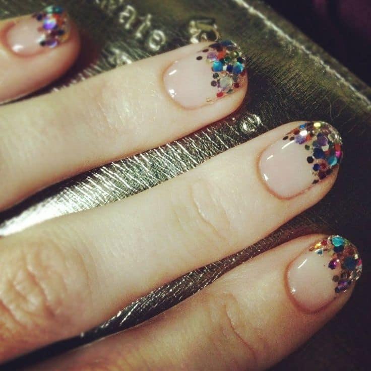 Glitter nail designs 41